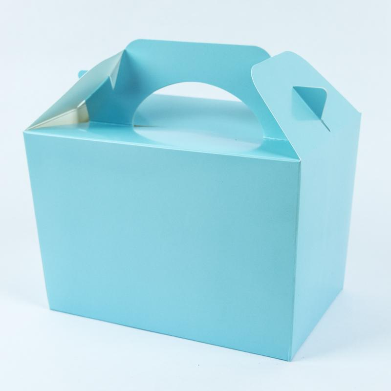 Party Boxes Pale Blue (x8)