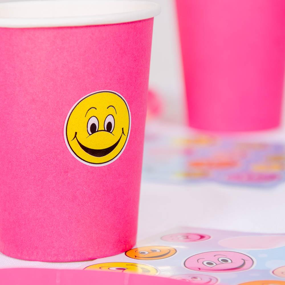 Smiley Sticker Sheets (x8)
