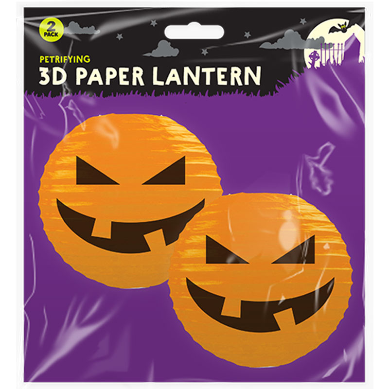 Halloween Pumpkin Lanterns Orange