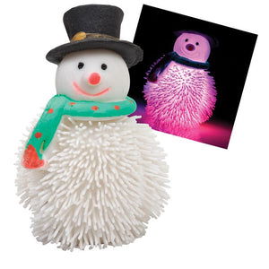 Flashing Christmas Squeezy Snowman