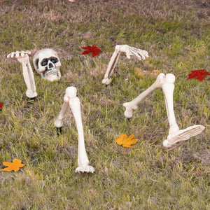 Halloween Garden Skeleton
