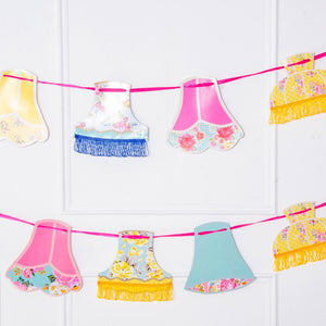Truly Scrumptious Party Lampshade Bunting