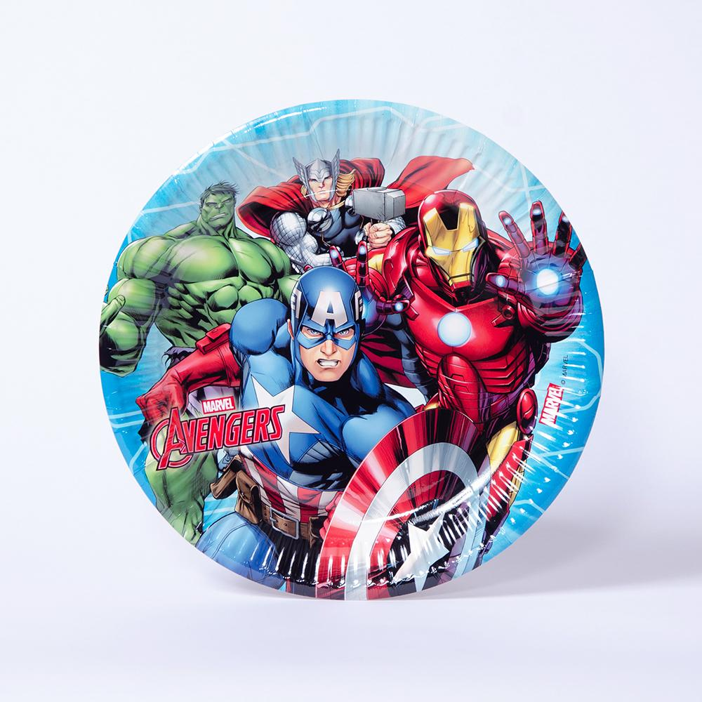 Marvel Avengers Party Plate