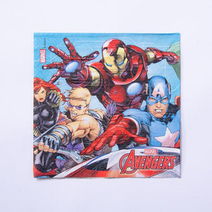 Marvel Avengers Paper Party Napkins (x20)