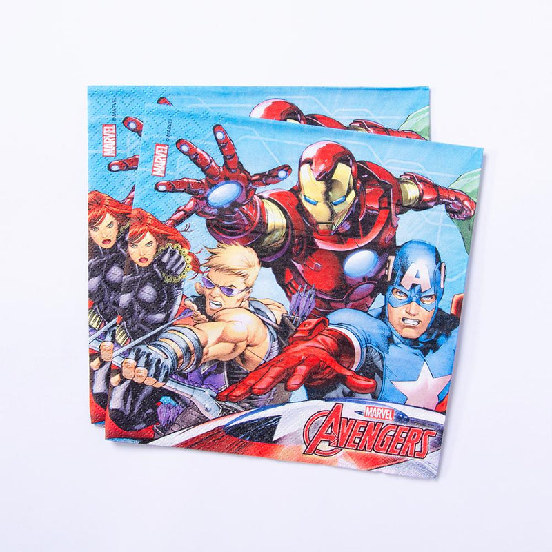 Collection of Marvel Avengers Party Napkins