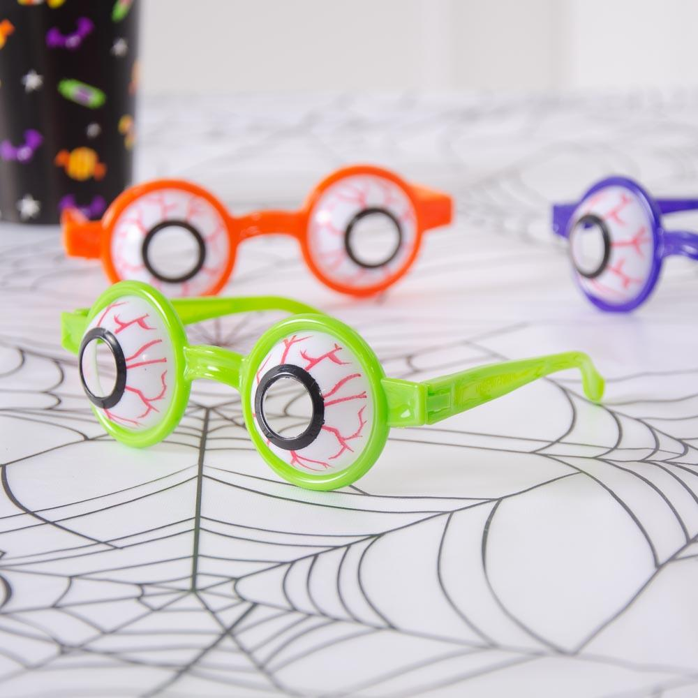 Halloween Eyeball Glasses (x6)