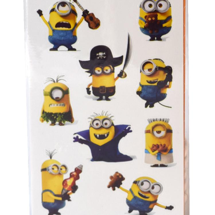 Minions Party Stickers Sheets