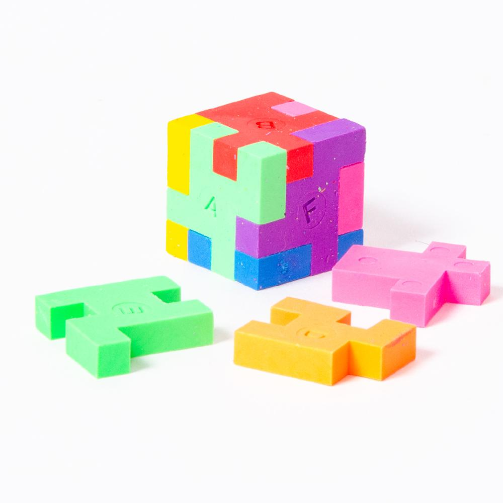 Cube Erasers (x6)