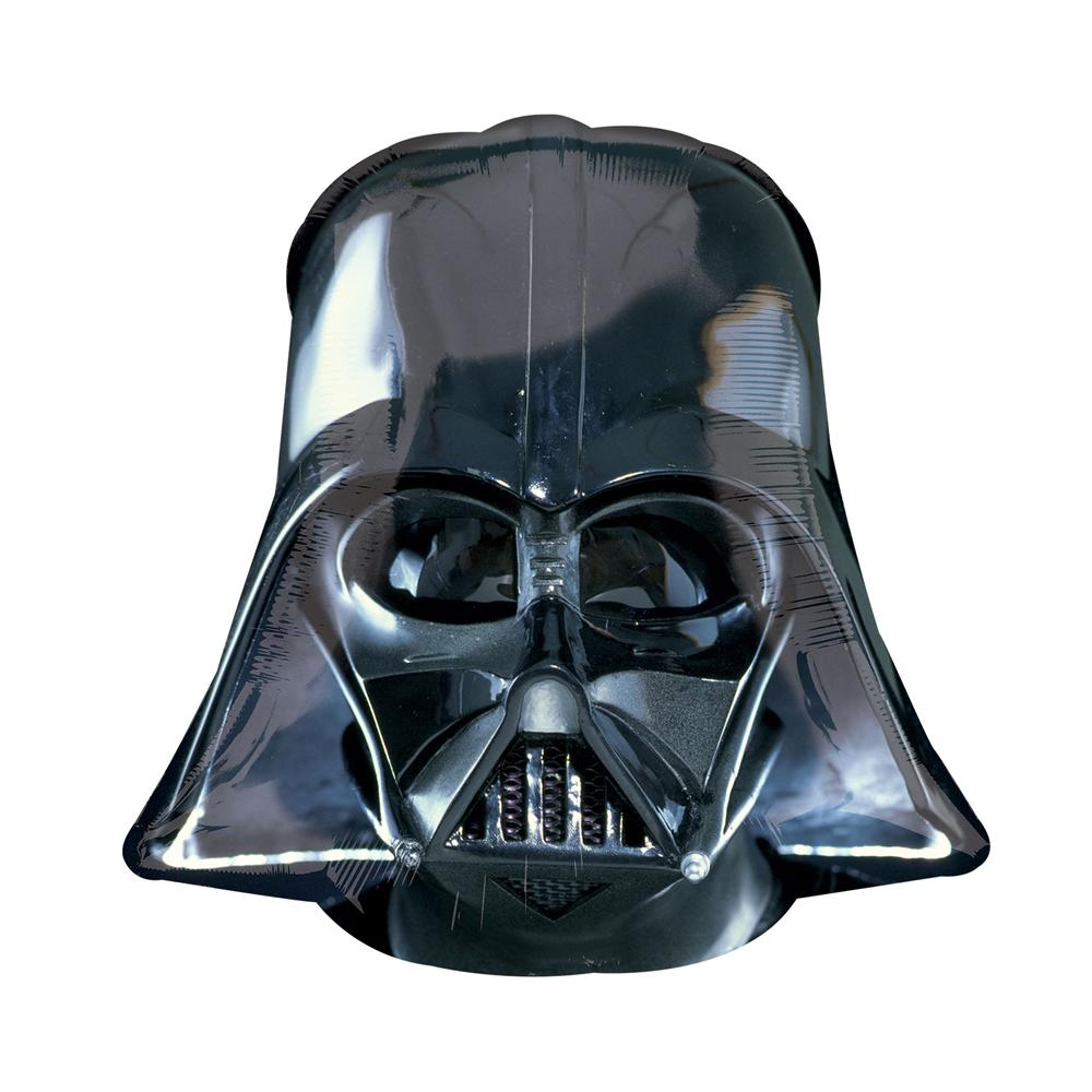 Supershape Darth Vader Helmet Helium Balloon