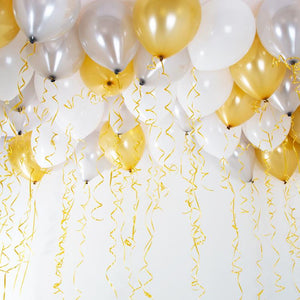 Balloons & Curling Ribbon (x30)