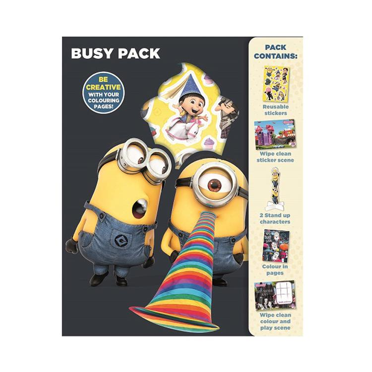Minions Busy Pack