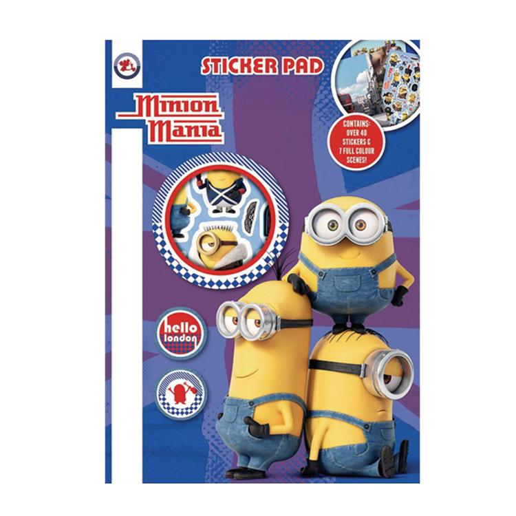 Minions Sticker Pad