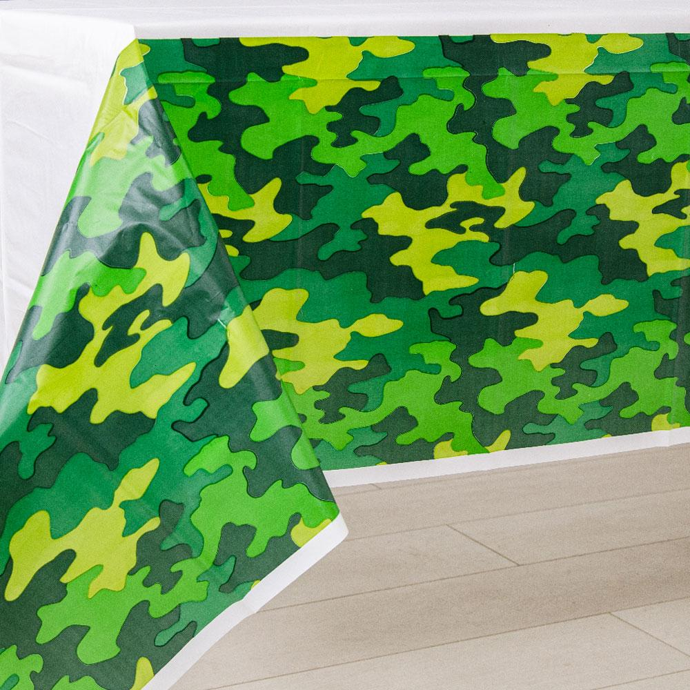 Camouflage Party Table Cover