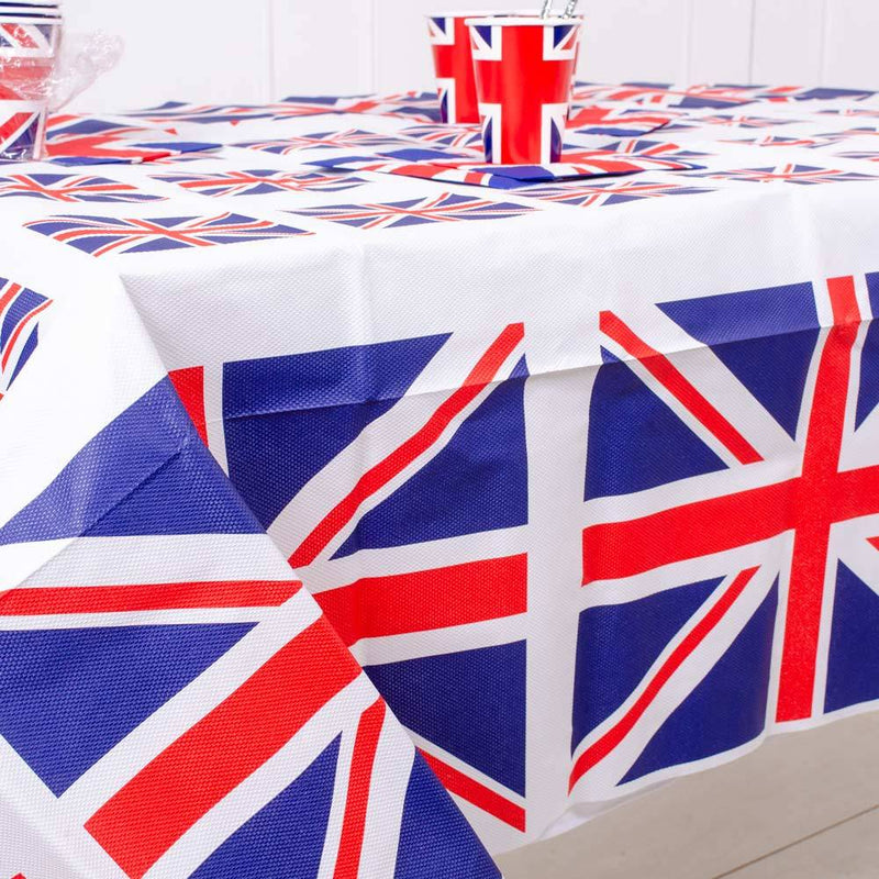 Union Jack Paper Table Cover
