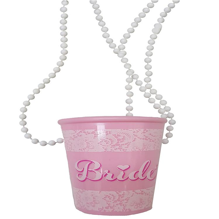 Hen Party Bride Shot Necklace