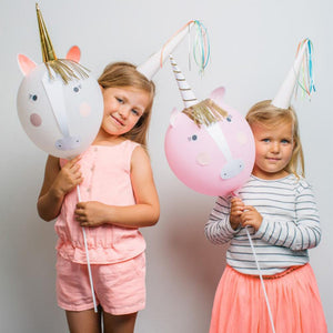 Unicorn Balloon Kit (x4)