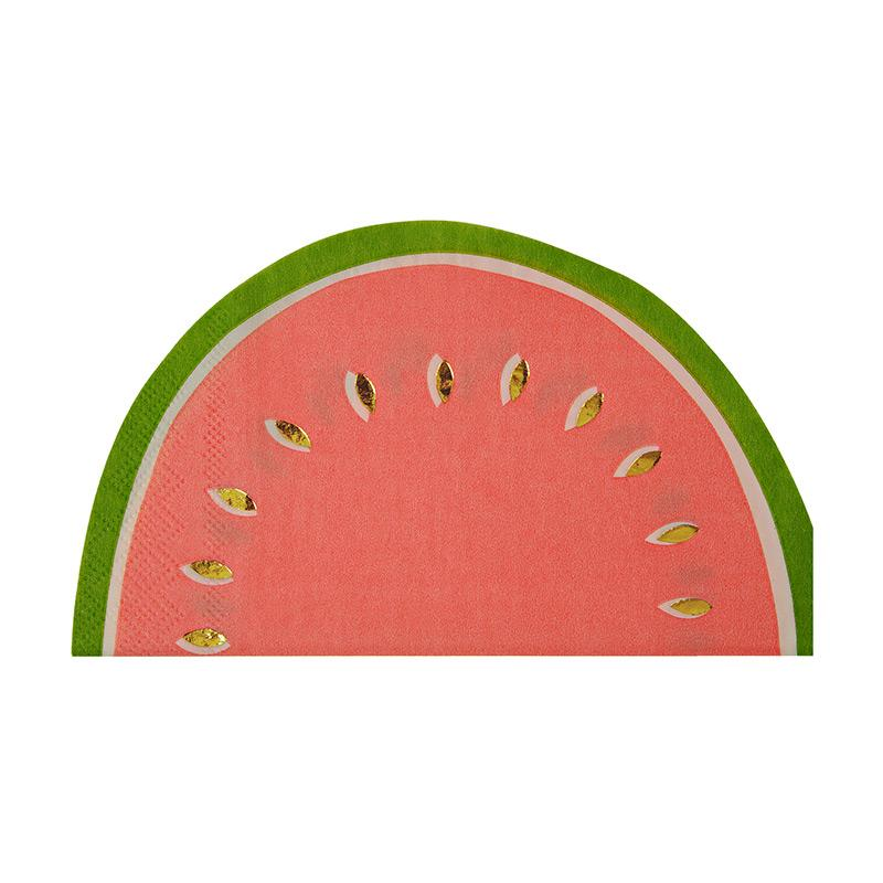 Tropical Watermelon Large Napkin
