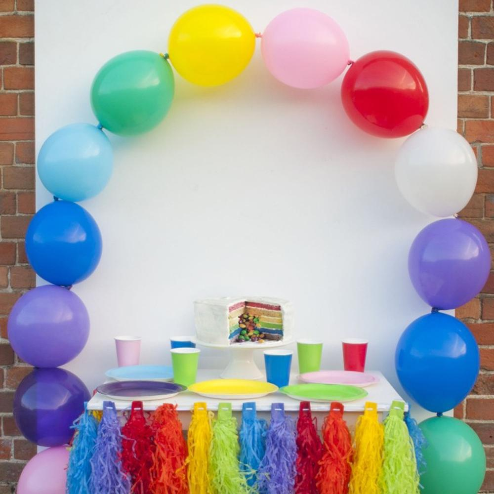 Click to view product details and reviews for Linking Rainbow Balloon Arch X15.