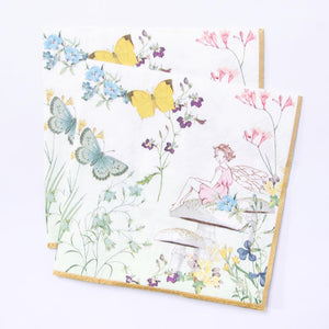 Truly Fairy Paper Party Napkins (x20)