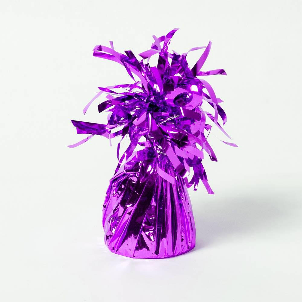 Foil Balloon Weight Purple