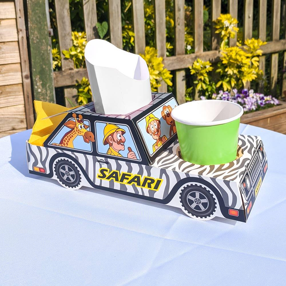 Click to view product details and reviews for Jungle Safari Party Food Trays X8.