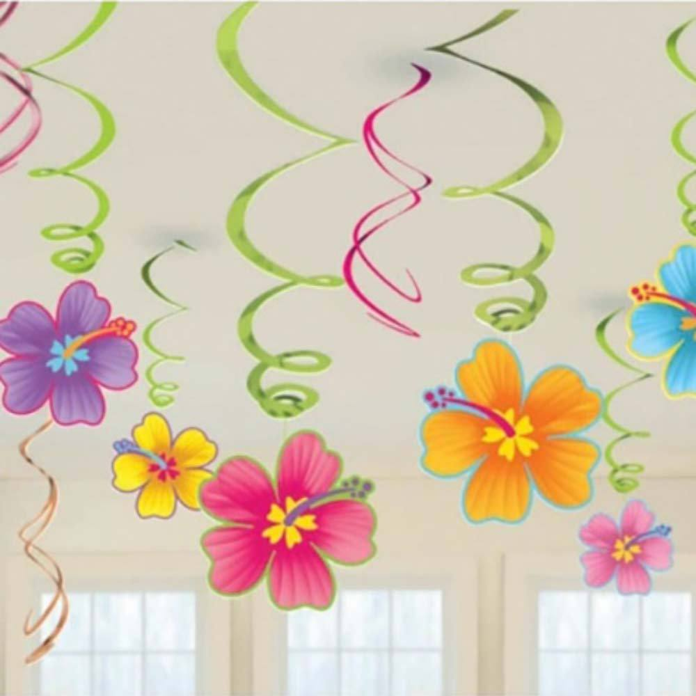 Hawaiian Ceiling Decorations