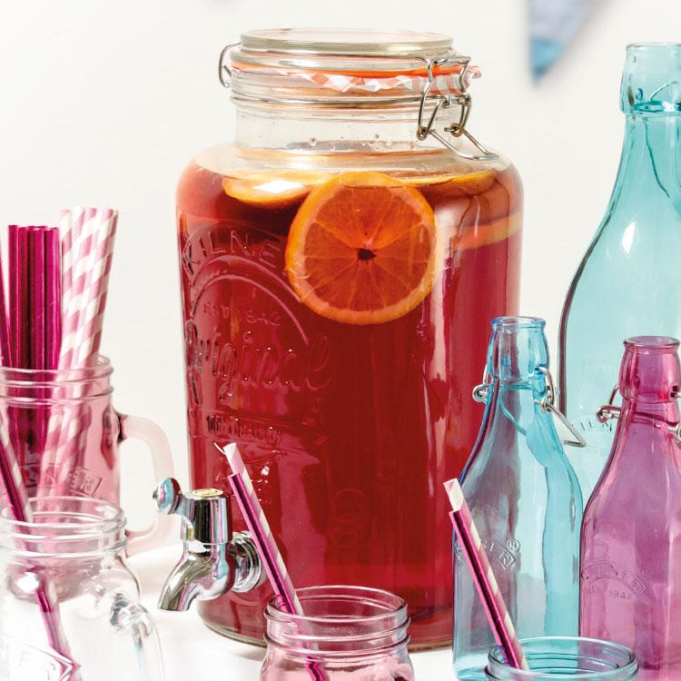 Clear Kilner Drinks Dispenser