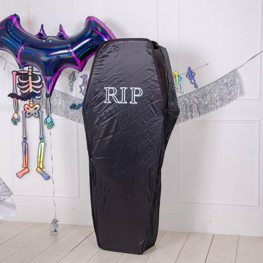 Life-Sized Halloween Coffin