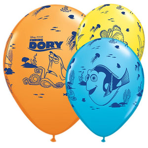 Disney Finding Dory Assorted Latex Party Balloons (x6)
