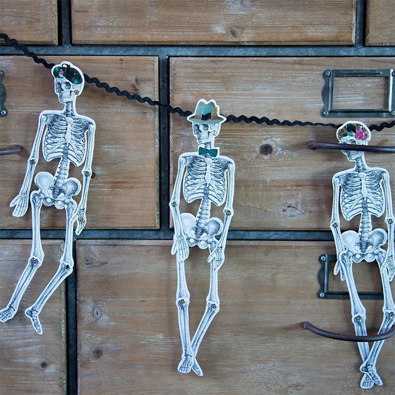 Skeleton Party Garland