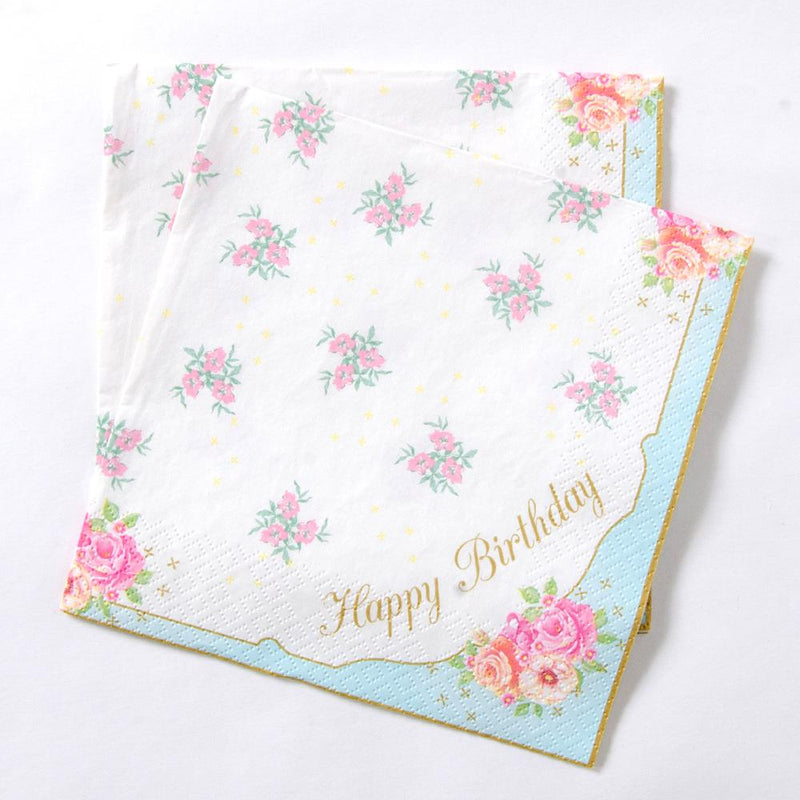 Truly Scrumptious Happy Birthday Napkin (x20)