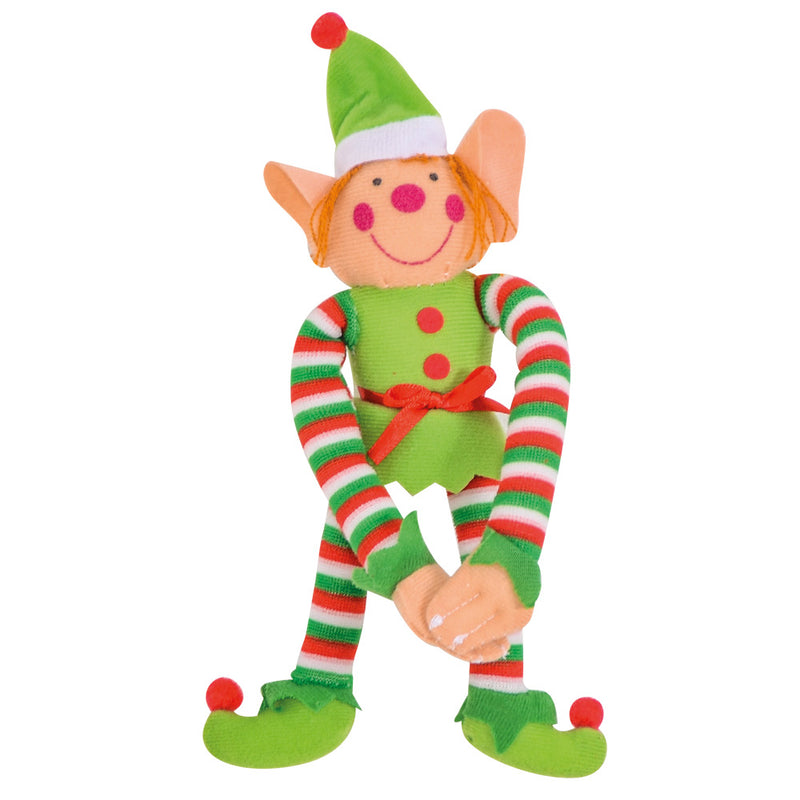 Plush Hanging Elf