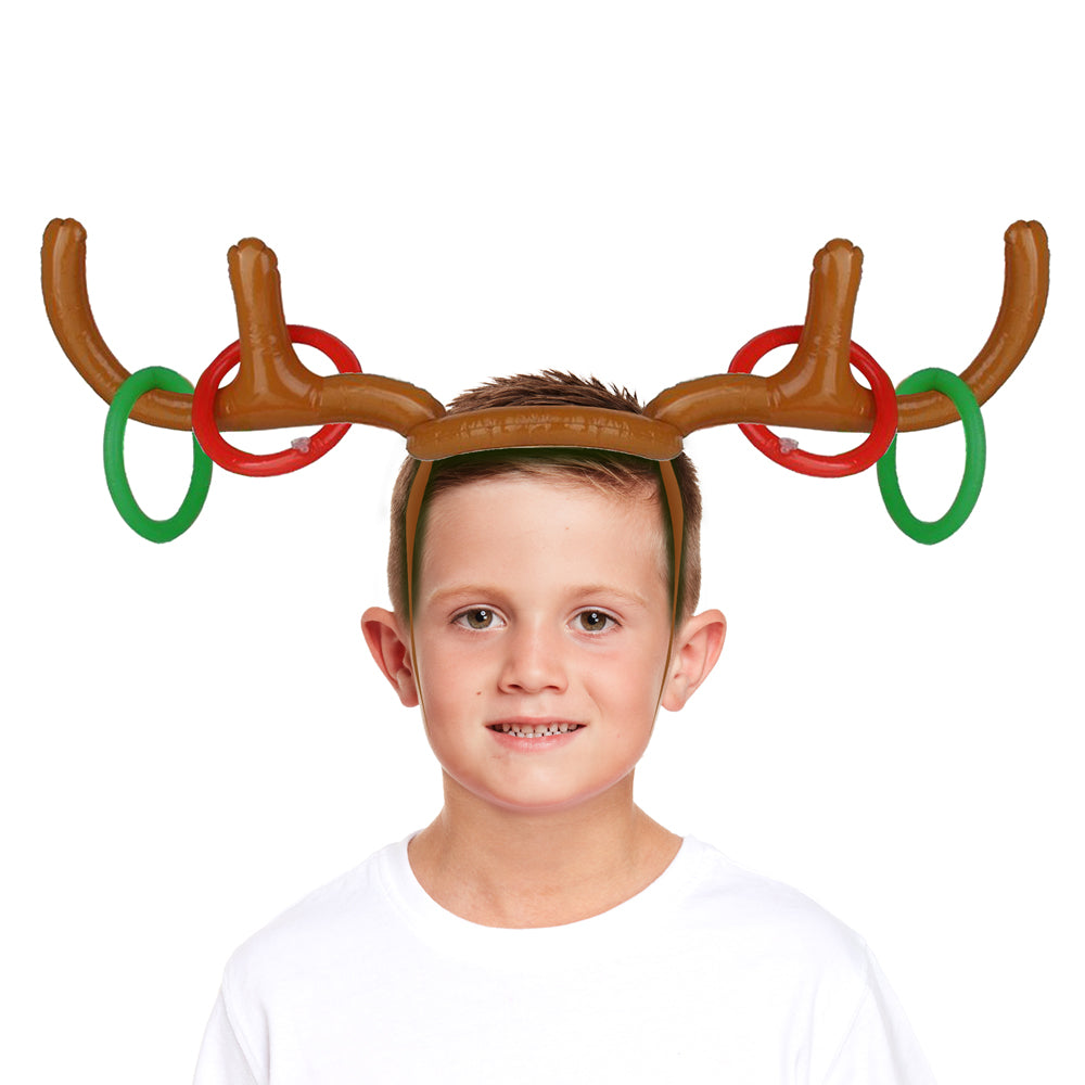 Click to view product details and reviews for Inflatable Antler Ring Toss Game.