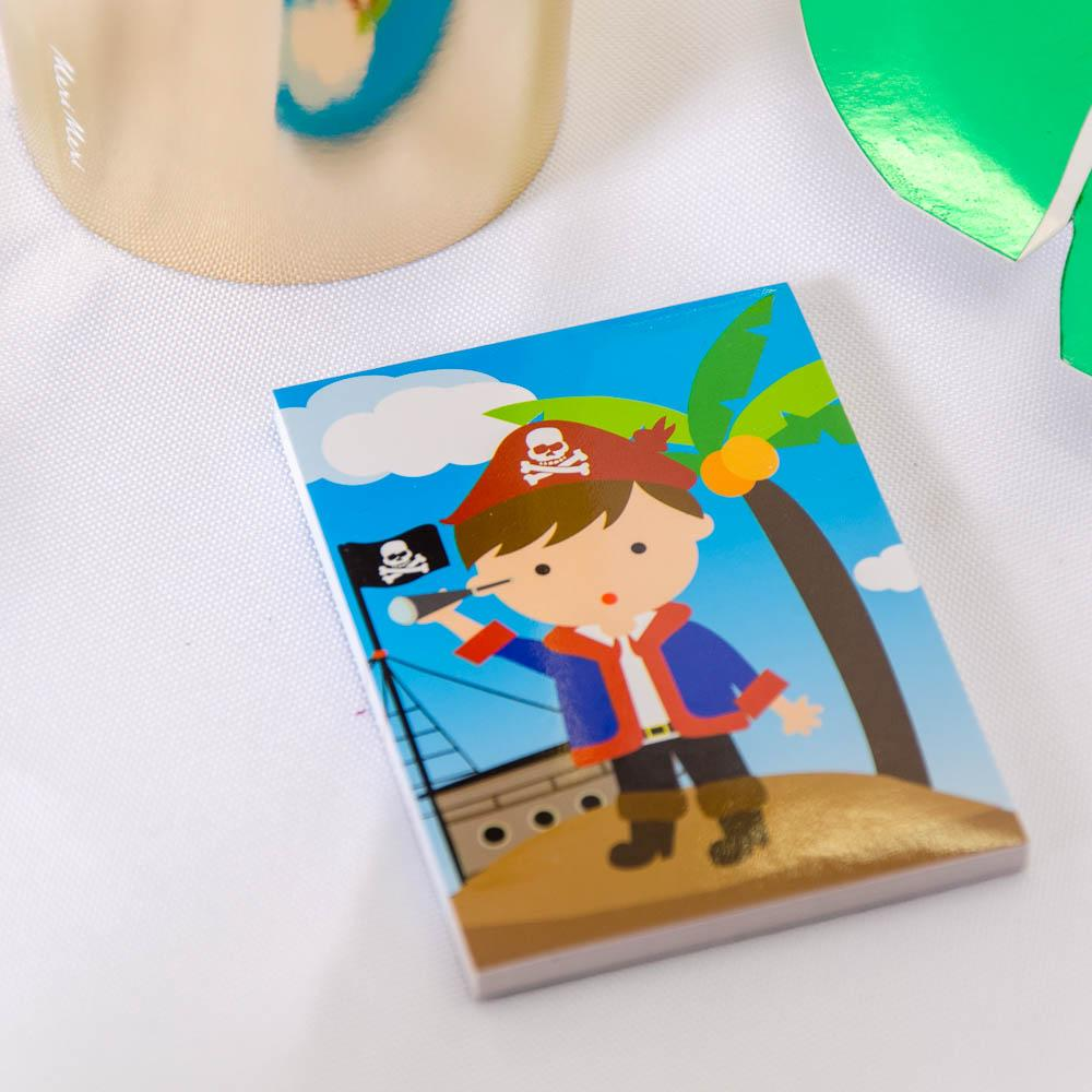 Pirate Mini Memo Pads (x6)