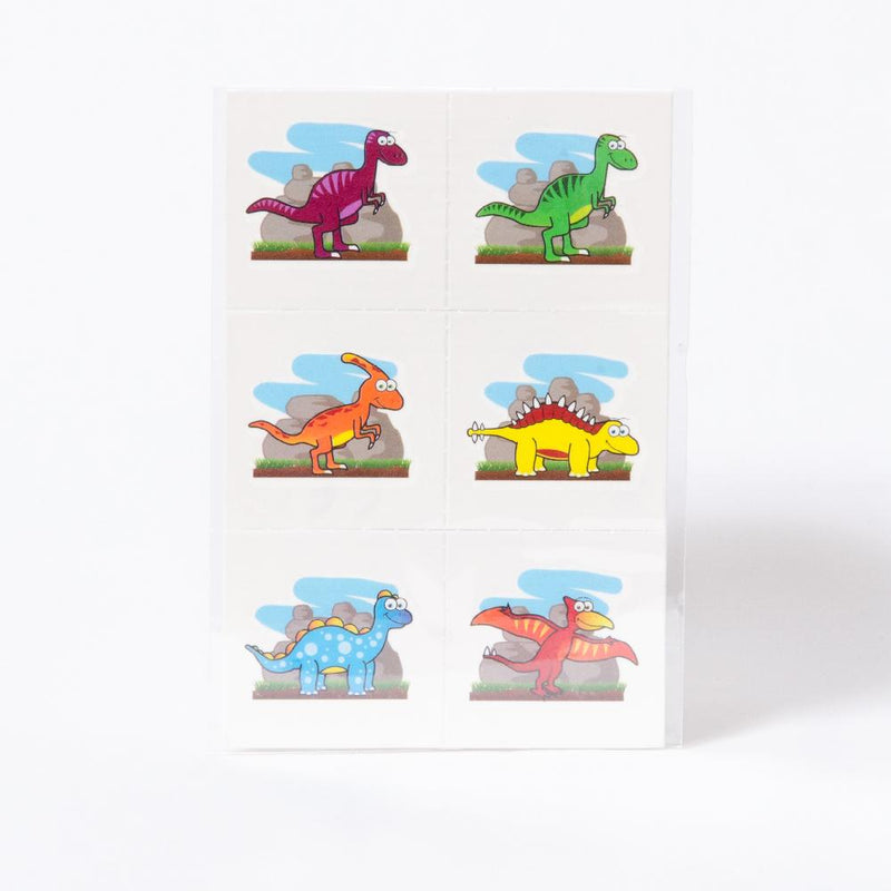 Mini Dinosaur Tattoos (x12)