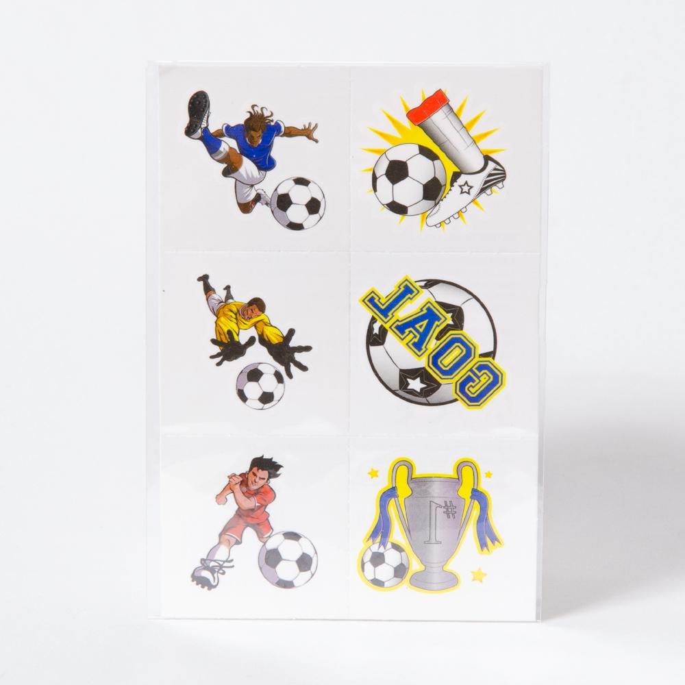 Mini Football Tattoos (x12)