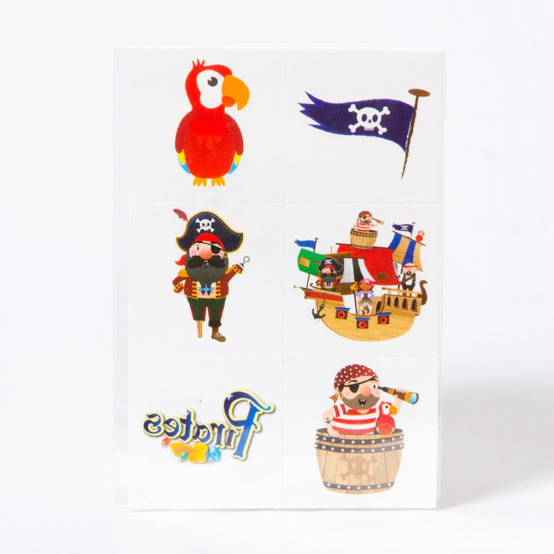 Mini Pirate Tattoos (x8)