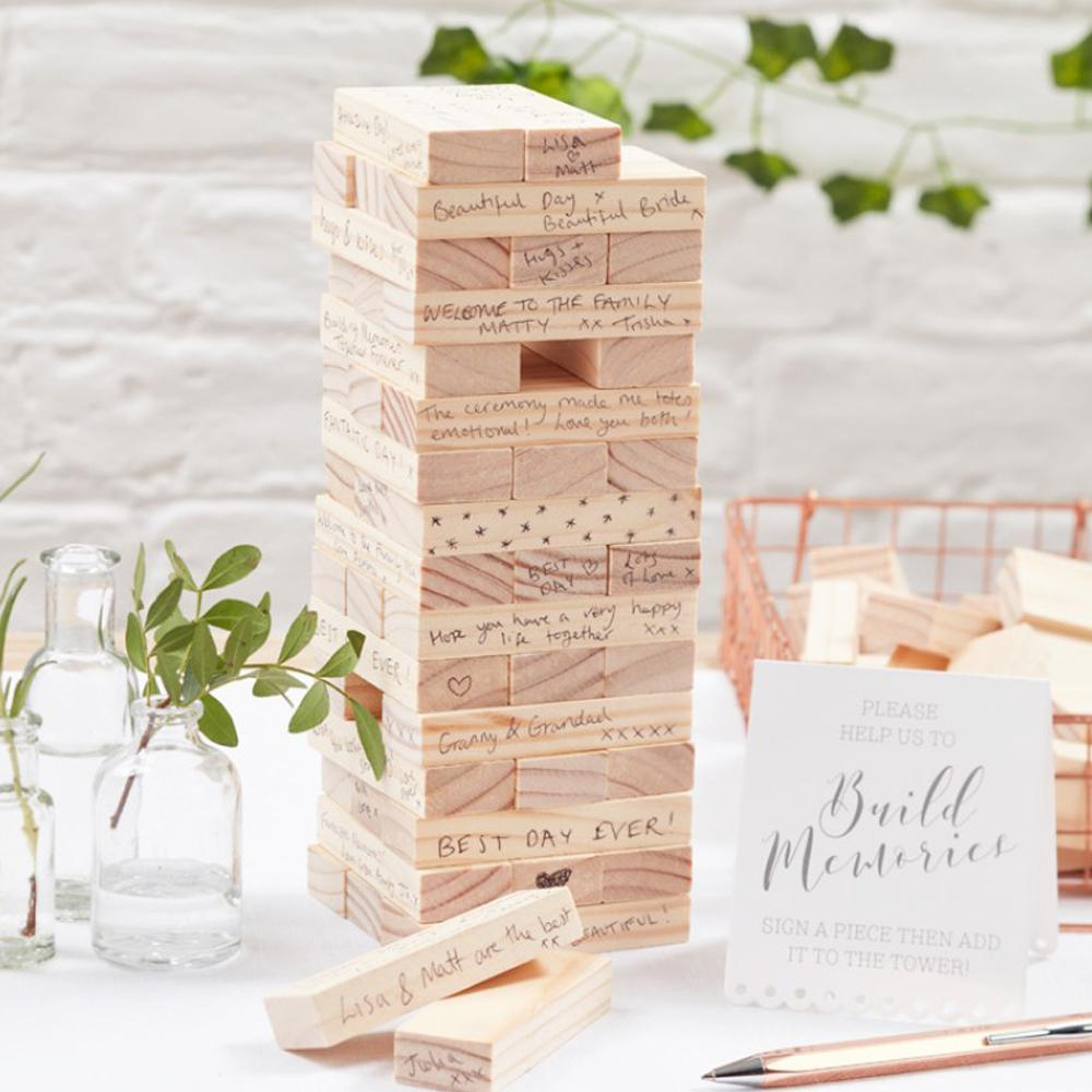 Build A Memory Wedding Guest Blocks