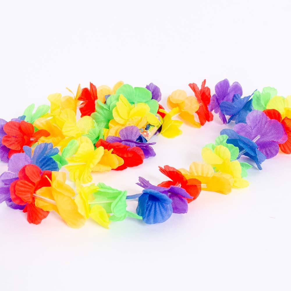 Rainbow Lei Set