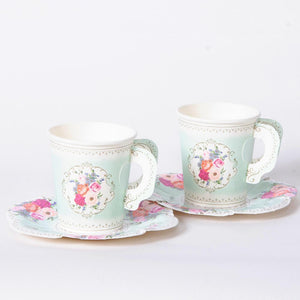 Truly Scrumptious Cup & Saucer Set (x12)