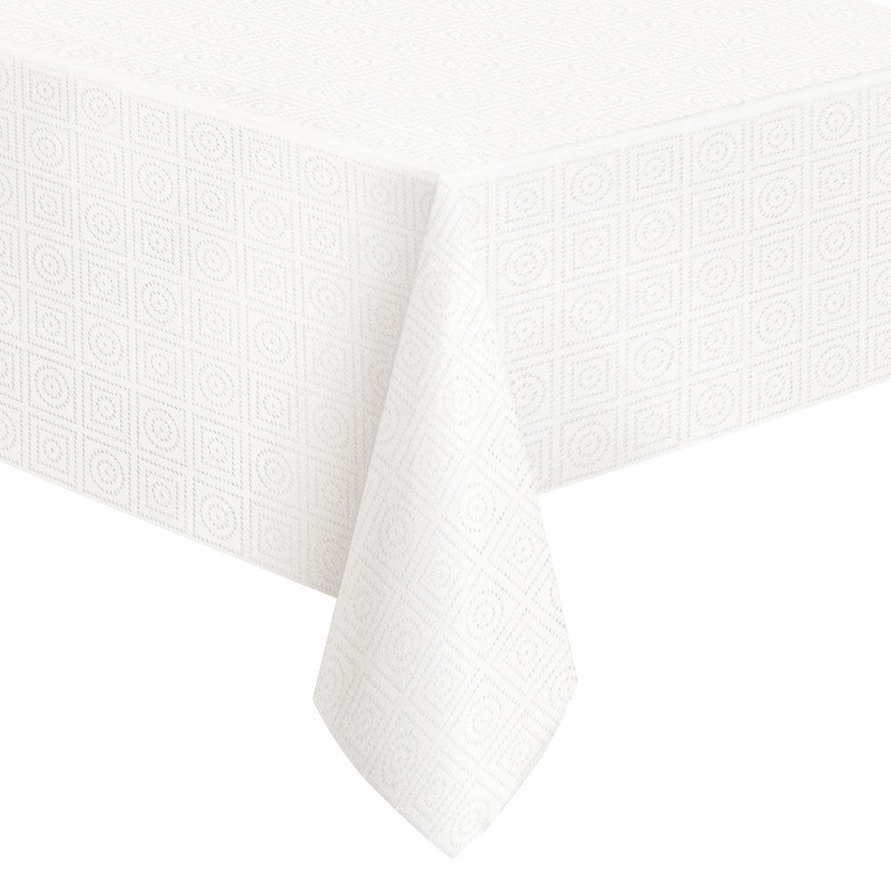 Paper Party Table Cover White