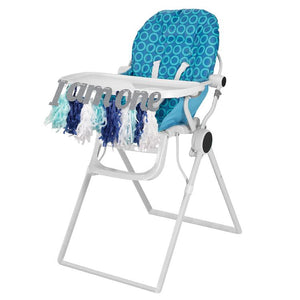 High Chair Tassel Garland - Blue