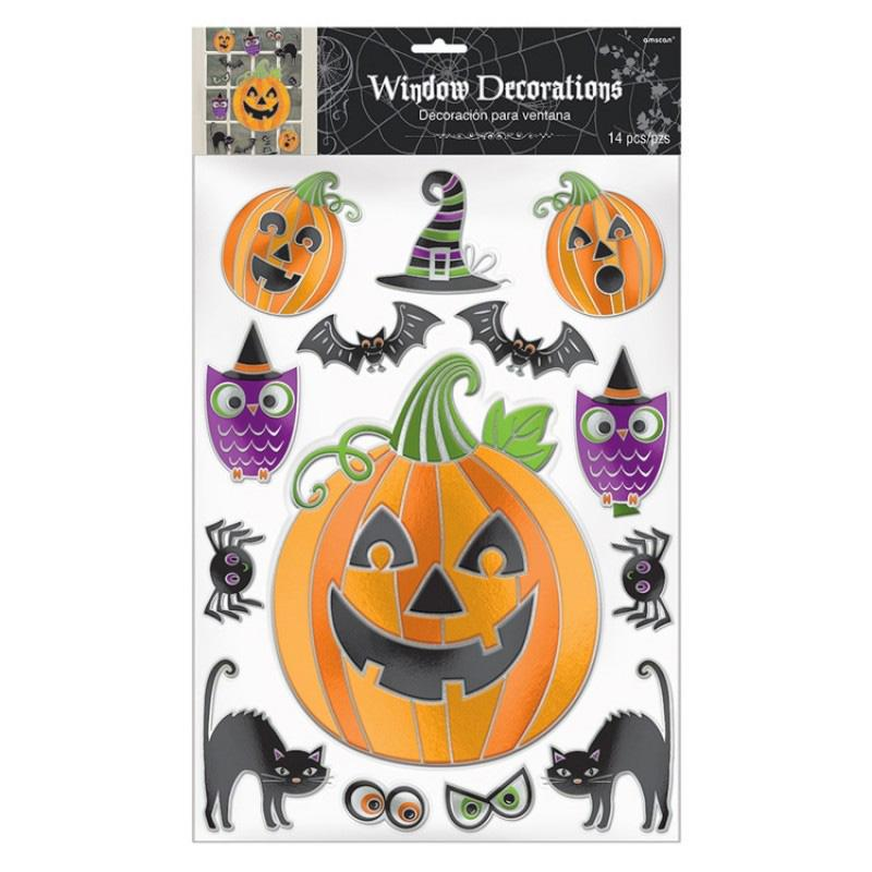 Halloween Embossed Window Decoration