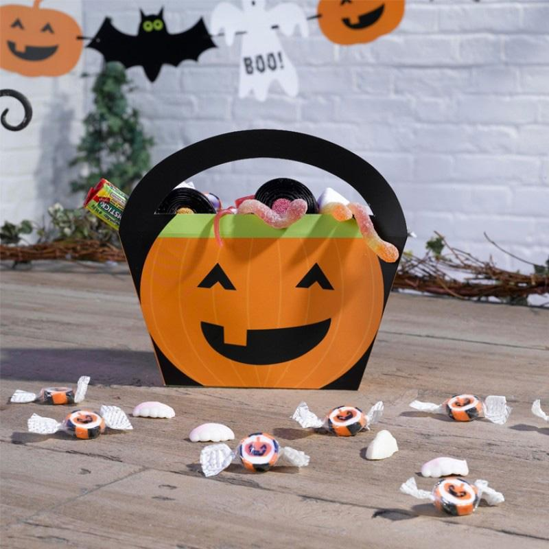 Pumpkin Party Treat Bags (x4)