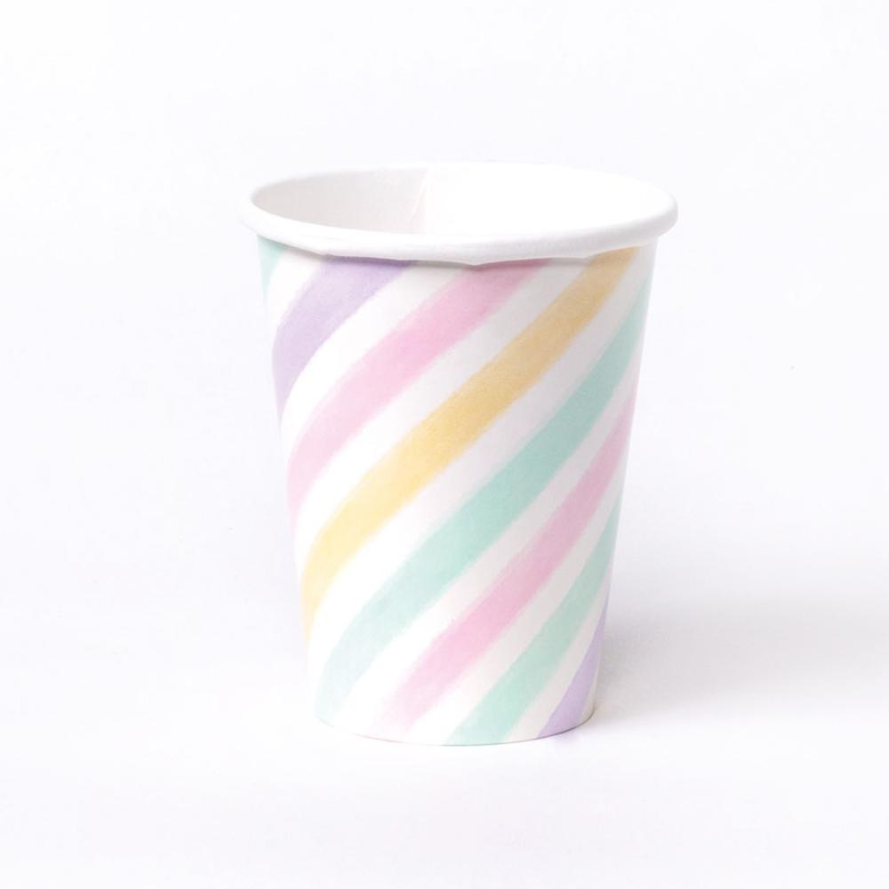 Unicorn Sparkle Paper Party Cups (x8)