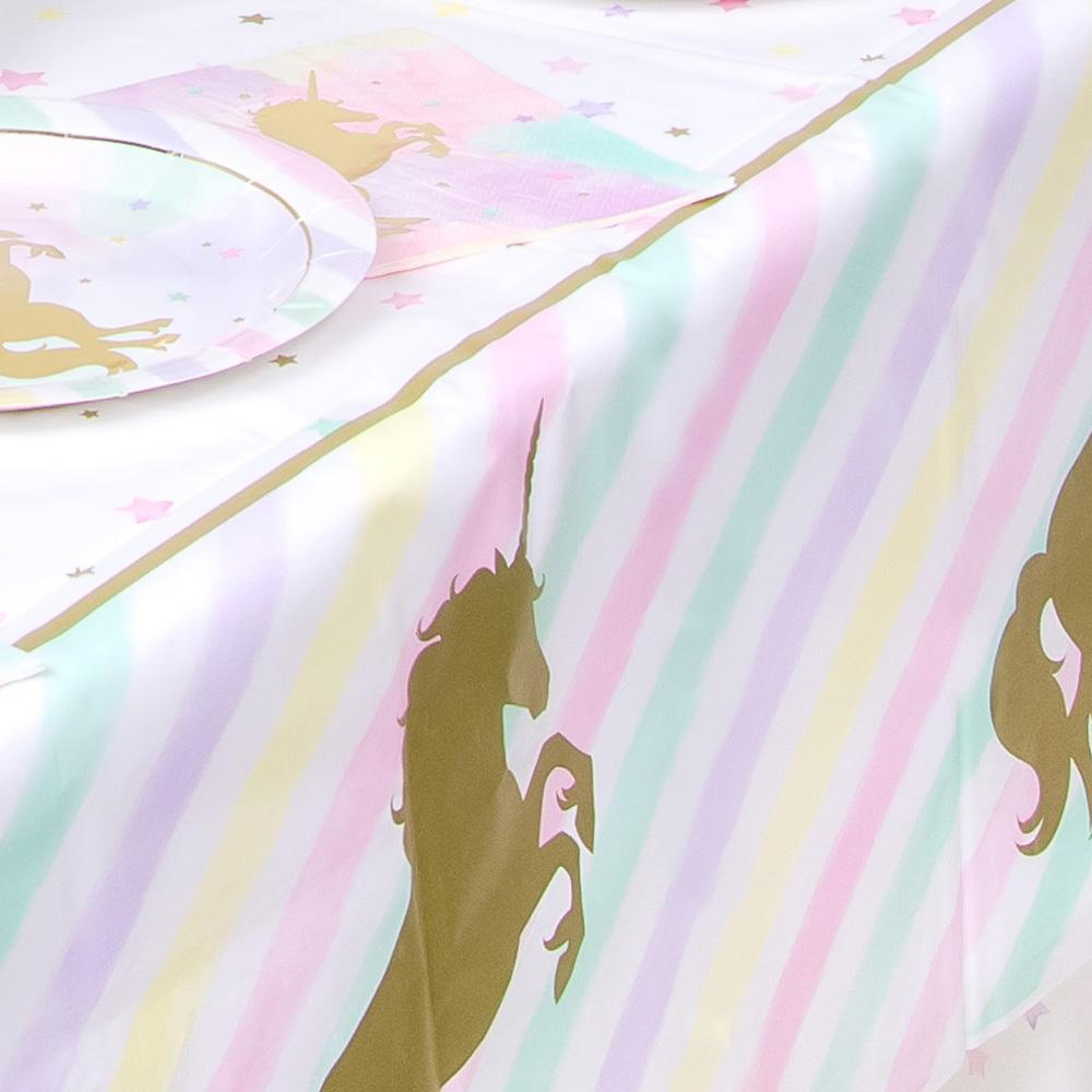 Unicorn Sparkle Party Table Cover