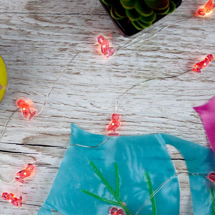 Tropical Fiesta Flamingo Lights