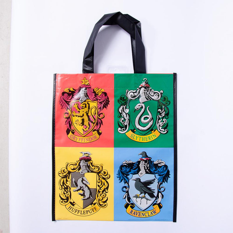 A large Harry Potter-themed gift big designed with the 4 houses of Hogwarts