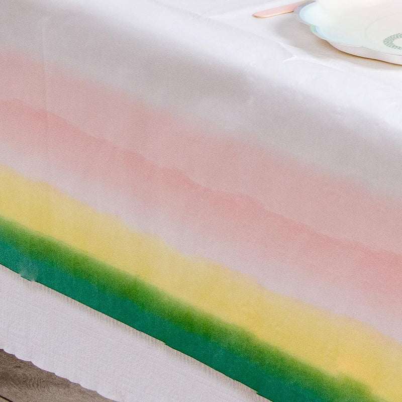 We Heart Pastel Rainbow Table Cover