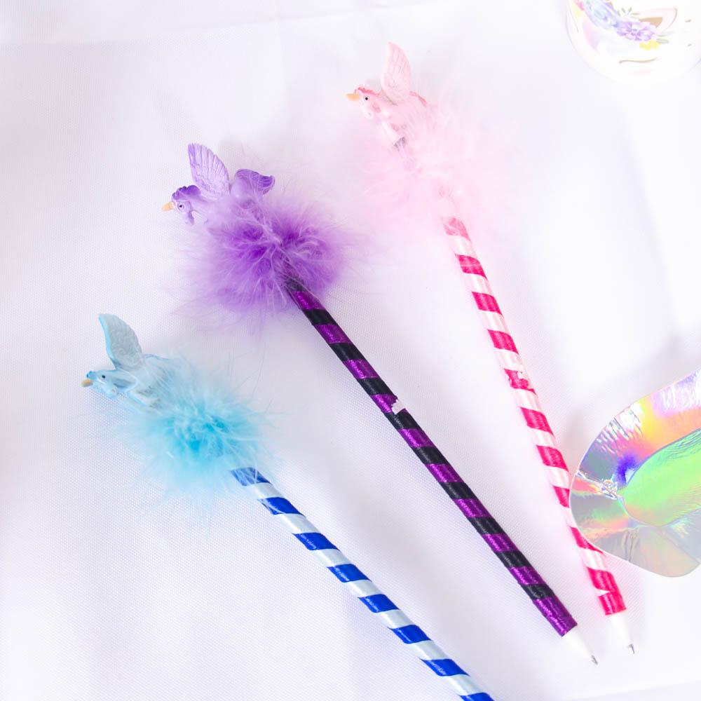 Fluffy Unicorn Pen